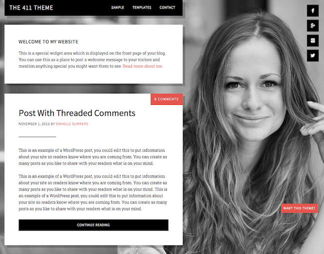 This WordPress Theme is a Perfect Fit for My Personal Site … Here\'s ...