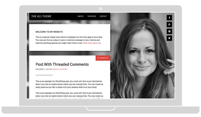 5 Dazzling Design Examples of What's Possible with the Genesis Framework for WordPress