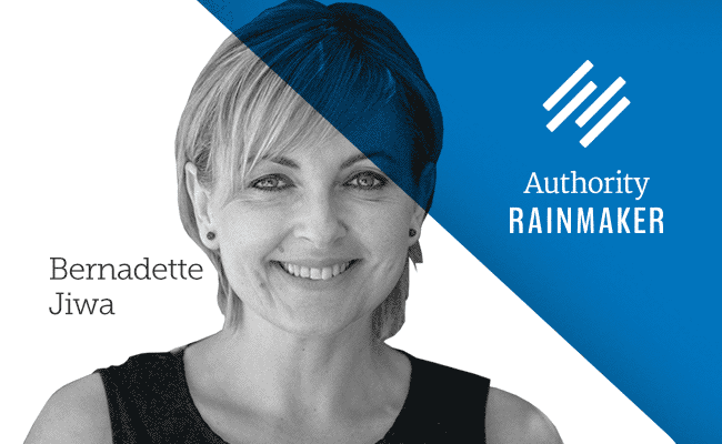 Authority Rainmaker 2015 speaker, Bernadette Jiwa