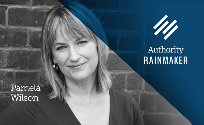 Authority Rainmaker speaker Pamela Wilson