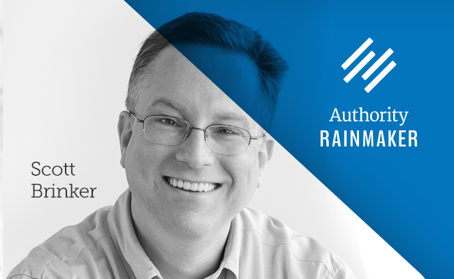 Authority Rainmaker speaker, Scott Brinker
