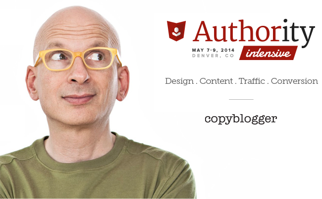 Announcing: Seth Godin will be Keynoting Authority Intensive
