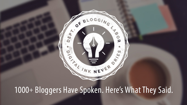 How to Be in the Top 5% of Bloggers: New Research Results