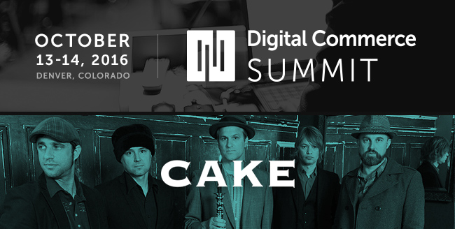 Featured Entertainment for Digital Commerce Summit: CAKE!