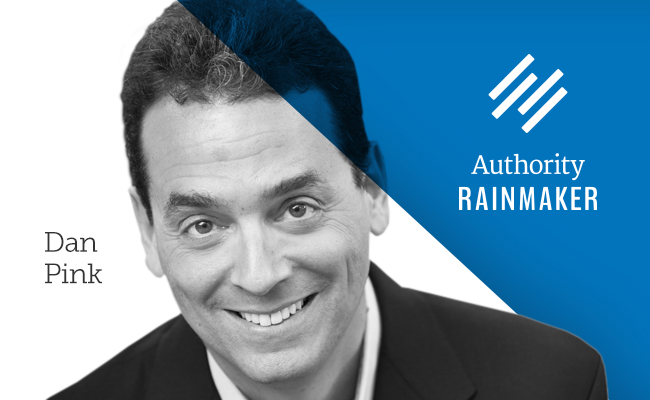Authority Rainmaker 2015 speaker, Dan Pink