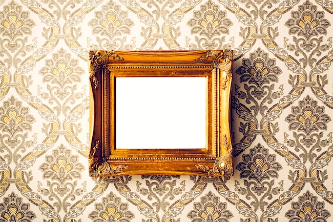 Image of Mirror Frame on Wall