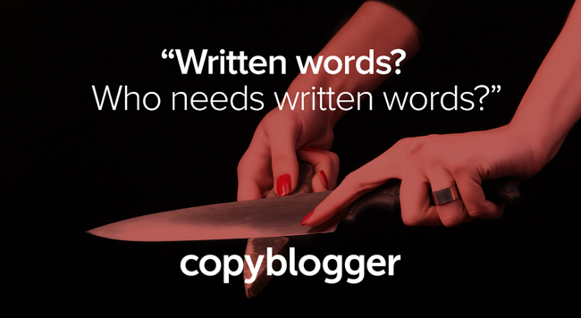 Why Copyblogger Is Killing Its Blog
