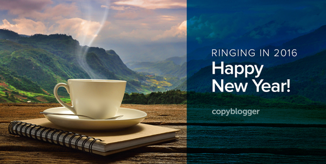 Jump-start Your 2016 with the Best of Copyblogger 2015