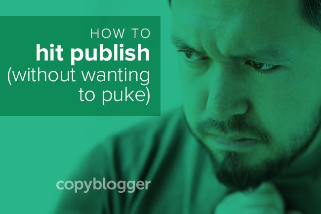 Does Hitting Publish Make You Want to Puke?