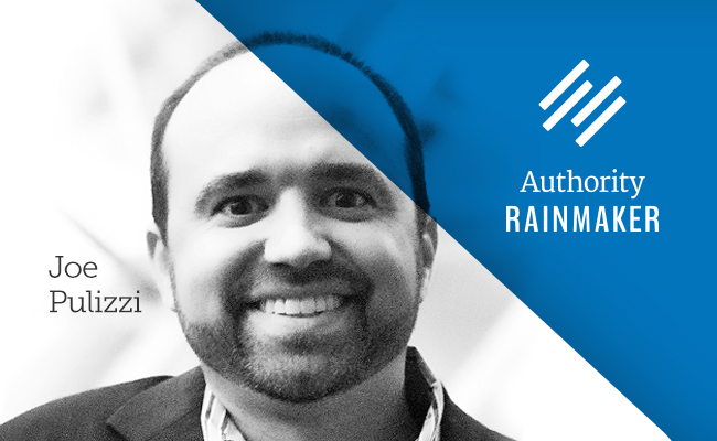 Authority Rainmaker 2015 speaker Joe Pulizzi