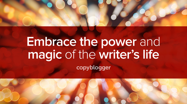Embrace the power and magic of the writer's life