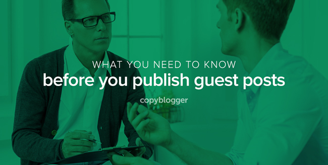 Should You Publish Guest Blog Posts on Your Website?