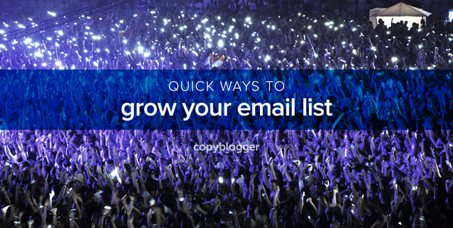 4 Quick Solutions that Spawn Radical Email List Growth