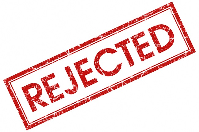 Image of Rejection Stamp