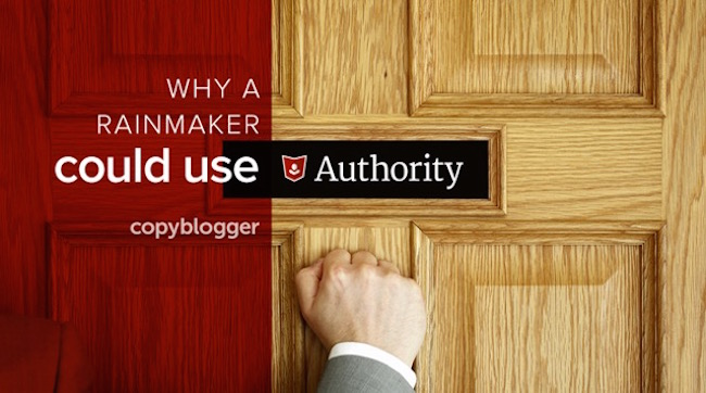 why a rainmaker could use authority