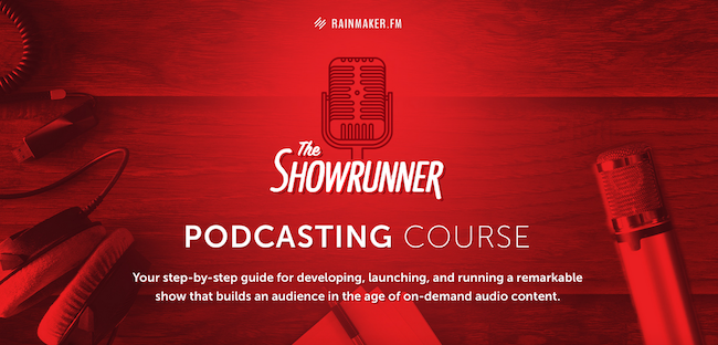 40 Hours Left: Join The Showrunner Podcasting Course Before Time Runs Out