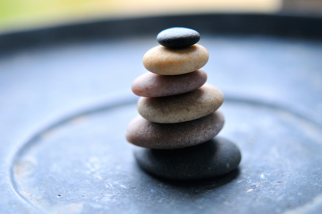 image of zen stones stacked on top of each other