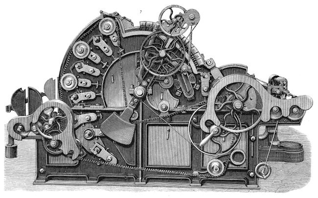 Image of Victorian Machine