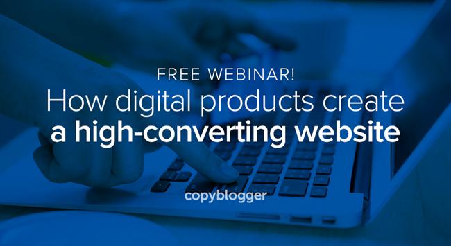 Free webinar! How digital products create a high-converting website