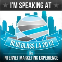 image of badge from BlueGlass LA conference
