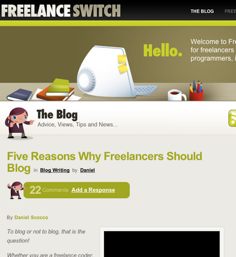 Freelance Switch on StumbleUpon