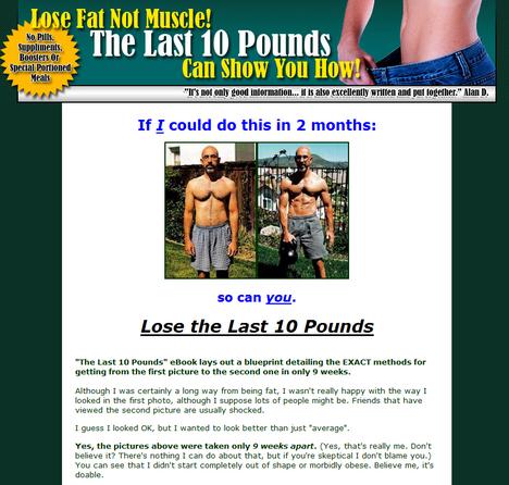 Last 10 Pounds