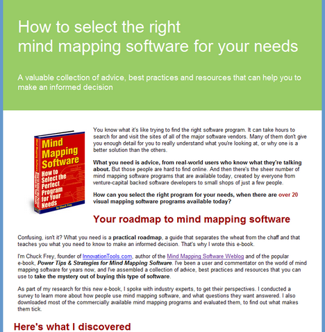 Mind Mapping Ebook