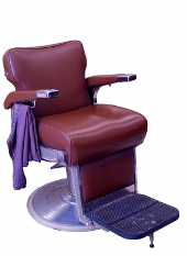 image of barber's chair