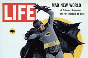 image of batman on cover of life magazine