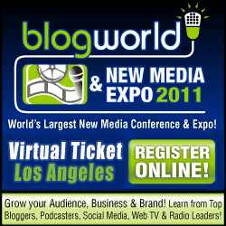 The BlogWorld Expo Virtual Ticket (or, How to Get To a Conference You Can't Get To)