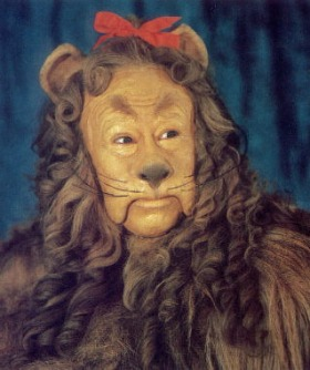 image of Cowardly Lion from Wizard of Oz