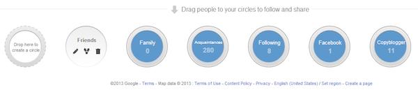 Image of Demian's Google+ Circles