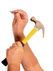 image of hammer and nail