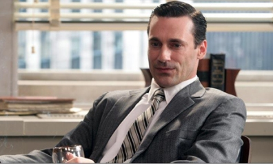 image of Jon Hamm as Don Draper