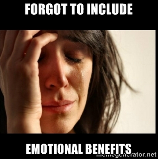 Why Emotional Benefits Are the Key to Reader Response