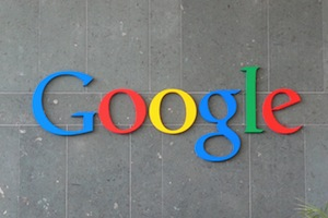 Image of Google Logo on a Wall