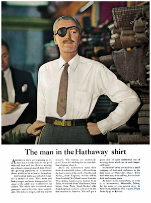 image of david ogilvy's hathaway ad