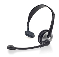 image of a hands-free headset