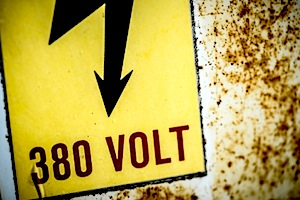 Image of High Voltage Warning Sign