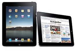 image of iPad device
