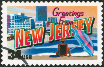 image of New Jersey postage stamp