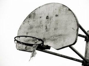 Image of Abandoned Basketball Hoop