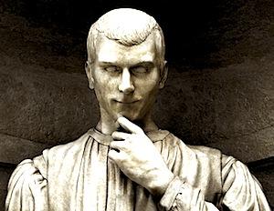 Image of Niccolo Machiavelli Statue
