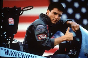 image of maverick giving us the thumbs up