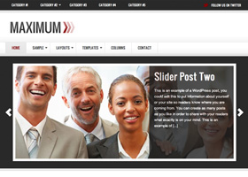image of the Maximum theme for WordPress