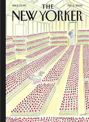 Image of February 2006 New Yorker Magazine Cover