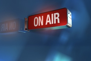 image of on air sign