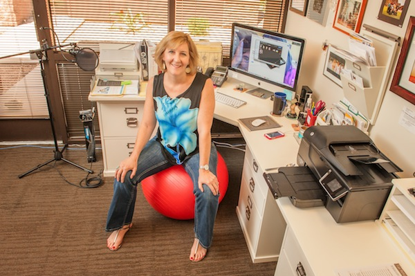 Image of Pamela Slim's Desk