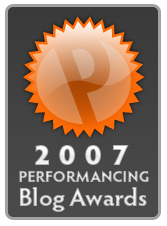 Performancing Blog Awards: What Do You Think?