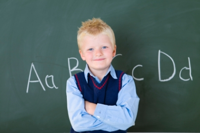image of a schoolboy